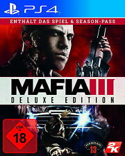 Mafia III - Deluxe Edition (Sony PlayStation 4, 2016)