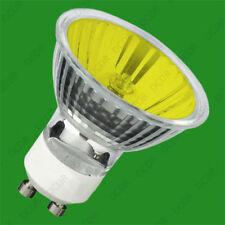Ampoules halogènes jaunes sans marque pour la maison