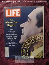 LIFE November 15 1968 Nov 68 RICHARD NIXON EDWIN NEWMAN GORDON PARKS SCIENTOLOGY