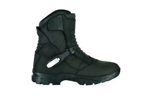 Motorbike Adventure Waterproof Motorcycle Boots Touring Real Leather Color Raxid