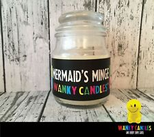 WANKY CANDLES Rude/ Funny/ Offensive/ Humour / Novelty gift   -  Mermaids Minge