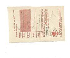 Prusse/ Boppard/ __ __, Aptierter Ra2 1862 sur Kabinett-Postschein avec Untersc