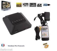 Passerelle Multimédia FULL HD 1080P TV HDMI AV USB Télécommand Lecteur Carte SD
