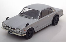 Triple 9 Nissan Skyline GT-R KPGC10 Silver Color 1/18 Scale New Release!