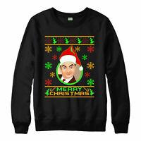 Mr. Bean Jumper, Comedian Xmas Hat Merry Christmas Gift Jumper Top