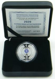 Griechenland 6 Euro 2020 Radio Foundation PP / Proof
