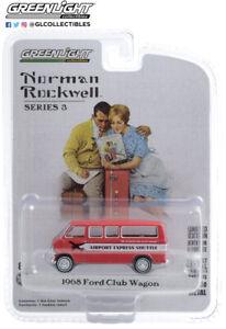 Greenlight 1:64 Norman Rockwell Series 3 1968 Ford Club Wagon