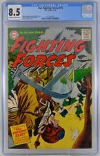 Our Fighting Forces #18 CGC 8.5 Heath art 1957