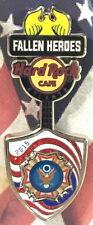 Hard Rock Cafe ATLANTA 2015 FALLEN HEROES Guitar Series PIN 9/11/01 HRC Tribute