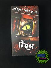 The Item (1999) VHS - Action Horror RARE - Dawn Marie Ferrara - Dave Pressler