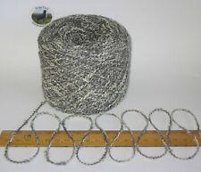100g balls Grey marl wavy boucle double knitting dk wool & acrylic yarn toys etc