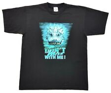 Vintage Dont Mess With Me! Alligator Tee Black Size L Single Stitch T Shirt 2003