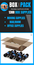 5 x Lay Flat Wine Box + Inserts.12 Bottles Moving Box Wine Carton Wine Storage