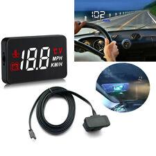 "5.5"" A100 Car SUV HUD Head Up Display OBD2 Consumption Project Speed System 12V"