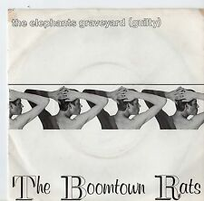 "Boomtown Rats - The Elephants Graveyard 7"" Single 1980"