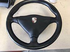 Porsche 996 Boxster Steering Wheel Black Leather 6 speed 97 - 04