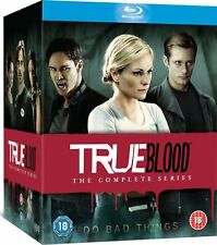 TRUE BLOOD THE COMPLETE SERIES ON BLU RAY 33 DISCS BOXSET