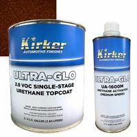0.75 Gal Kirker Ultra-Glo Urethane Paint Bourbon Brown UA-11138 w/ Med Activator