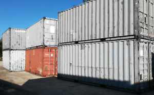 Materialcontainer 20 Fuß Container, Seecontainer, Lagercontainer, Lagerbox 20ft