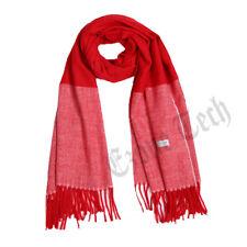 Men Women Cashmere Scarf Shawl Wrap Solid Plain Wool Soft Warm Winter Gift