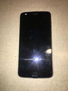 Motorola Moto Z2 Play Gray 32gb Verizon Unlocked Smartphone XT1710-02 Cracked