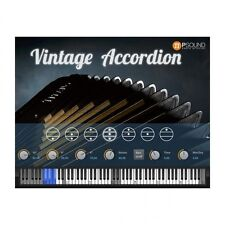 PSound Vintage Accordian Mac PC Software Instrument