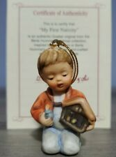 "Goebel Hummel - ""My First Nativity"" 2.25 in. Christmas Ornament (Porcelain) Coa"