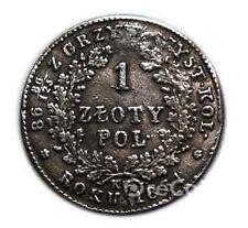 1 zloty 1831 Russian-Polish