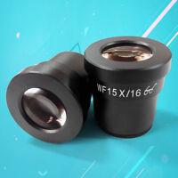 WF15X High Eye-point Eyepiece Wide Field 16mm Lens Ocular for Stereo Microscope