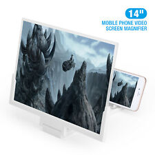 14 Inch Phone Screen Magnifier 3d Video Cell Phone Amplifier Stand Bracket New