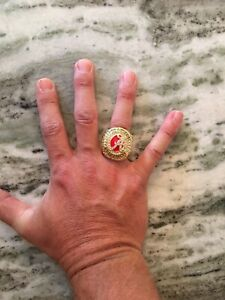 2020 ALABAMA NATIONAL SEC NCAA Football Championship Ring Size 11 Only