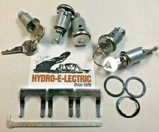 1962-1964 Oldsmobile Starfire Dynamic 88 98 Complete OE Style Lock Set- GM Keys