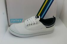SHOES/FOOTWEAR - Dunlop Volley lace up canvas white/navy