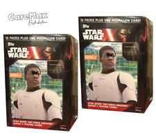 2016 Topps Star Wars The Force Awakens Series 2 Blaster Box (2 box lot!)