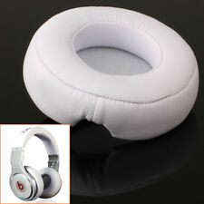 1 Pair White Ear Pad Cushion Replacement for Beat By Dr Dre PRO DETOX Headphones