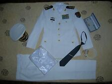 Obsolete 07 China PLA Central Military Commission Navy 3 Stars Admiral Uniform