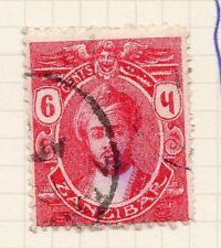 Zanzibar 1914 Early Issue Fine Used 6c. 051135