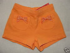 Gymboree TROPICAL GARDEN Orange Bow Pocket Shorts NWT 6-12 6 9 12