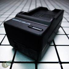 AC/Car S007/S007E/BDC10 Battery-Charger for Panasonic Lumix DMC-TZ1GK/TZ2EG-K-S