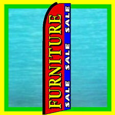 FURNITURE SALE ADVERTISING SIGN Feather Swooper Bow Banner Flutter Flag