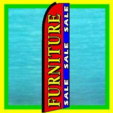 Furniture Sale Advertising Sign Feather Swooper Bow Banner Flutter Flag