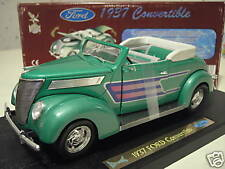 FORD 1937 CONVERTIBLE cabriolet 1/18 ROAD SIGNATURE voiture miniat Custom Tuning