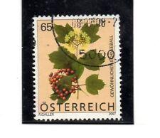 Austria Flora valor del año 2007 (BL-808)