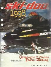 1998 SKI-DOO TUNDRA R/II LT PARTS MANUAL
