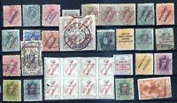 SPAIN MOROCCO 34 OLD DIFFERENT STAMPS LOT HIGH CATALOG VALUE!