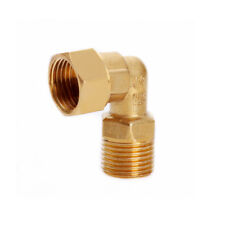 """BRASS COMPRESSION TUBE FITTING 1//4/"""" TUBE OD QTY 9 #61194"""