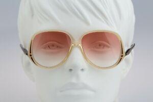 Silhouette M 1096 20 C 2596 Vintage 70s pink lenses oversized square sunglasses