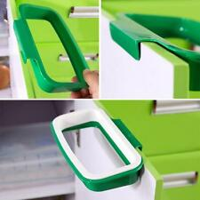 Portable Plastic Door Garbage Trash Bag Box Can Rack Hang Holder Kitchen Tool RF