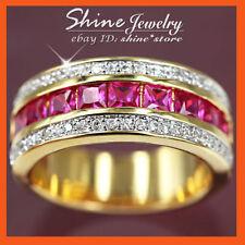 Copper Ruby Fashion Rings
