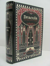 Bram Stoker 'DRACULA AND OTHER HORROR CLASSICS' ☆ NEW ☆  LEATHER BOUND ☆